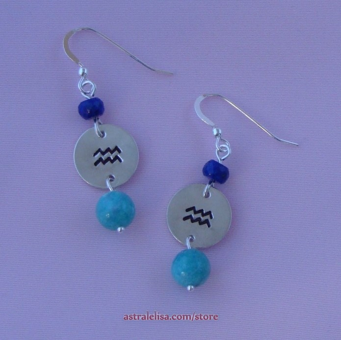 Aquarius Innovation earrings